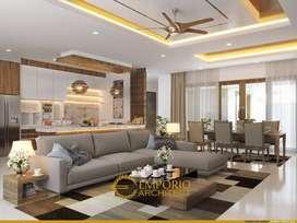 Jasa Arsitek Palembang Desain Rumah 340m2 - Emporio Architect