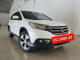 Honda All New CRV 2.4 AT 2012 Putih, Km 105 ribuan