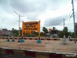 Half km from putlur railway station, dtcp plot for sale