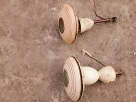 Two ceiling fans in good condition