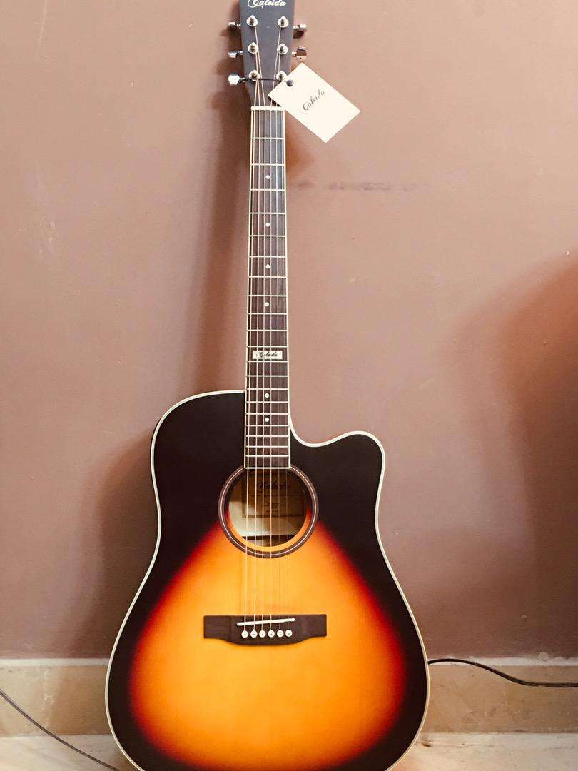 Semi ACOUSTIC GUITAR 41 inch guitar 5 band builtin tuner 0