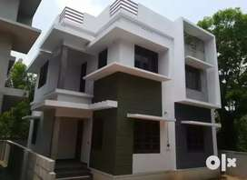 3 bhk 1200 sqft 3 cent new build house at kalamassery near muppathadam