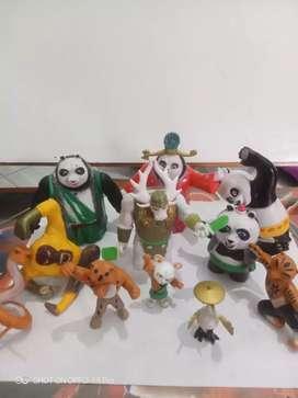 Kungfu panda 10 harga satu set