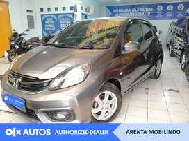 [OLXAutos] Honda Brio Satya E 1.2  A/T 2016 Abu #Arenta Mobilindo