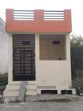 क्या मकान 500 स्क्वायर फीट में बना हुआ और 500sf प्लाट खाली