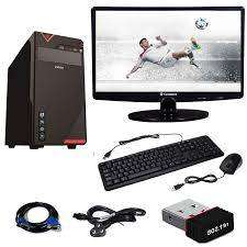 Desktop New Brand With Led,wifi Cpu,& Speaker Only- 7500