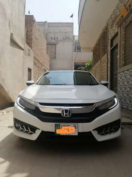 Honda civic vvti oriel 2018 ug full option super white