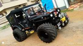 MODIFIED OFF ROADING HUNTER JEEP READY FOR HUNT