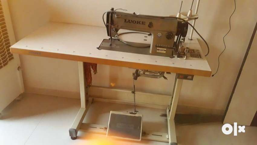 Luoke automatic industrial sewing machine ,speed 4000-5000 age-2yrs 0