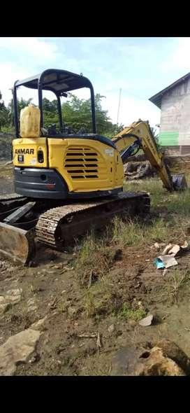 Rental excavator mini