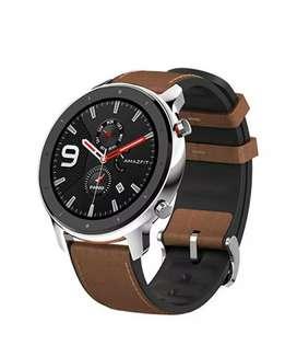 Amazfit GTR 47MM Smartwatch Silver