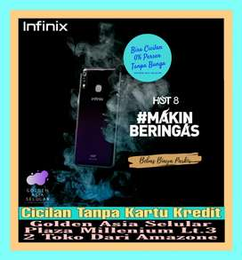 Infinix Hot 8 4/64 GB || Garansi Resmi ||Bisa Cicilan