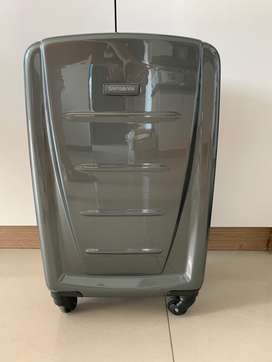"SAMSONITE Reflex 2 20""/55cm Carry On Spinner Graphite"