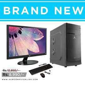Full Set New Computer With 1 Year Warranty