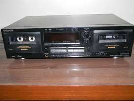 Sony Double Cassette Deck with Auto Reverse and High Speed Dubbing