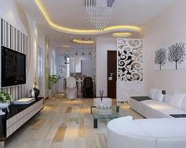 My housa has 2 bedrooms and a bathroom