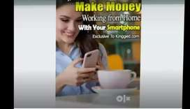 work from home with any smart phone