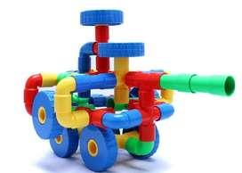 Mainan Block Brick Lego Model Pipa Pipe Roda