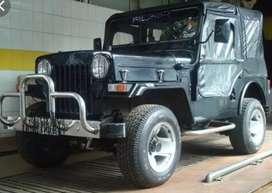 Modified mahindra classic jeep