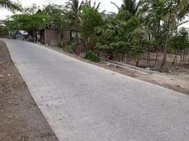 Dijual Tanah Luas ( 2,3 Hektar ) jln poros Laikang Kab. Takalar.