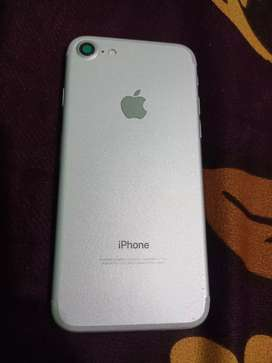 Iphone 7 with charger only  32 gb good condition