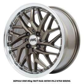 NEW SEPULU HSR R16X7 H8X100-114,3 ET40 BRZML