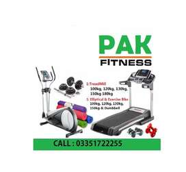 Treadmill /Running Machines /EllipticaL/Hom e gym/Cycling/Air Walker..