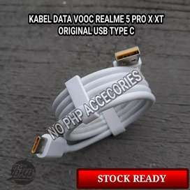 Kabel Data OPPO/Realme VOOC Type C Original Produk