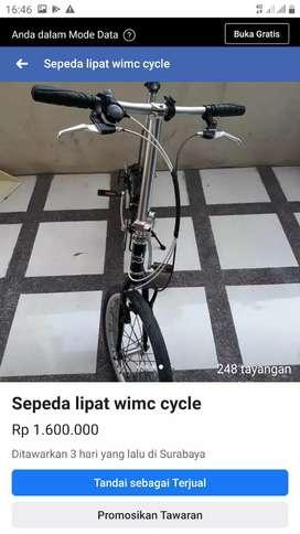 Wimc cycle poket roket