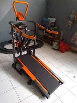 Treadmill manual MULTIFUNGSI bisa COD LANGSUNG id 8277