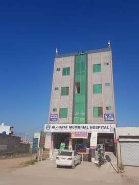 Hospital for rent or contract