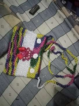 Hand made ladies and babies purses