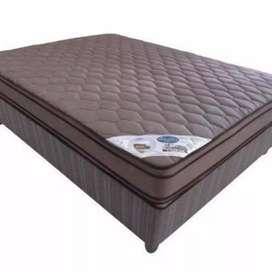 Luxury mattress, Memory foam/natural latex topped mattress