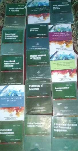 B.ed books for 1st, 2nd and 3rd semester