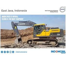 Alat Berat Excavator VOLVO EC200D, 20Ton Kondisi Baru. Pesisir Selatan