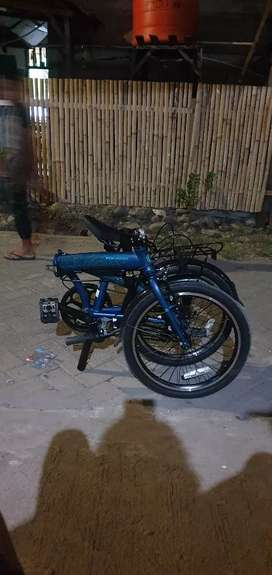 Sepeda lipat poligon urbano 3