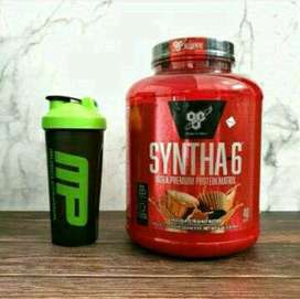 Bsn Syntha 6 5 Lbs Whey Protein Harga Distributor Bpom Exp 2019