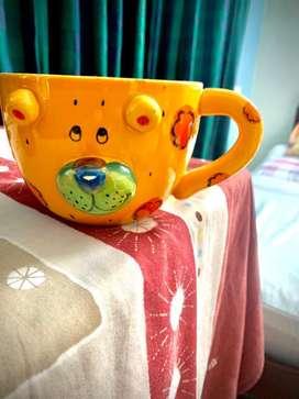 Fashion dog face mug