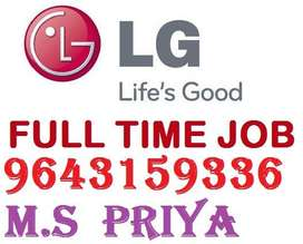 Hiring for well known LG Electronic Company Privet Limited .