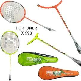 Raket Badminton Bulutangkis Frasser Fortuner X998