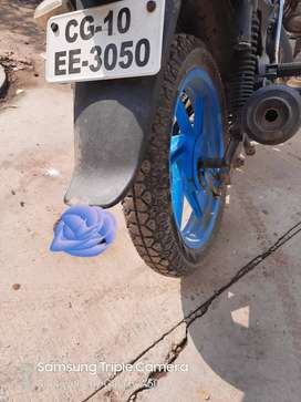 Bajaj pulsor 150 chalu condition me hai ,tyre new hai,,insurance ,