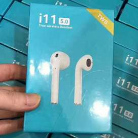 Headset Bluetooth i11 TWS 5.0 Touch Button Earpods