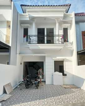 Rumah tahap finishing design modern