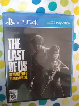 PS 4 game - The last of us remastered edition