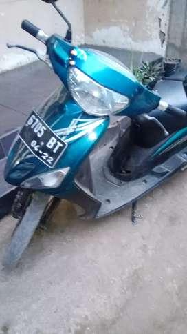 Mio tahun 2008 BPKB aja STNK ilang aman
