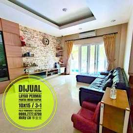 Dijual Rumah Fully Furnished dan Renovasi ( 10x15 ) Layar Permai - PIK