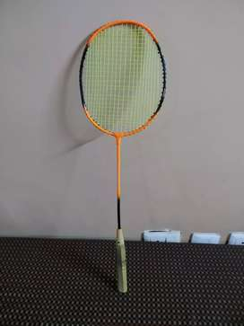 Badminton Racket- Orange Color