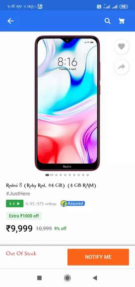 Redmi 8  Awesome Condition 6 month old