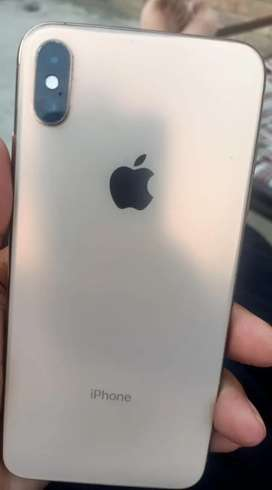 i phone XS max gold