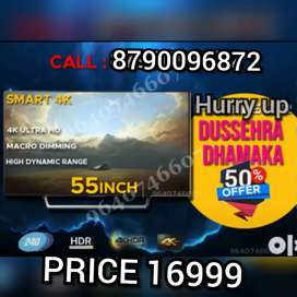 Its 55 INCH BRAND NEW SMART led tv full hd smart WITH 2 year warranty